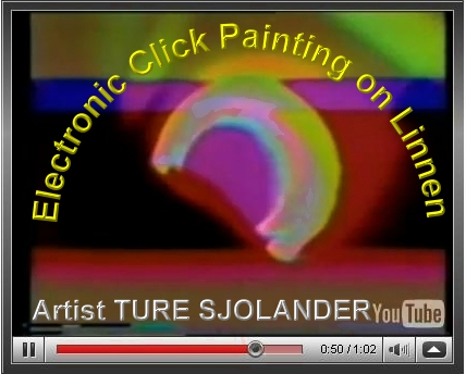 Painting on Electronic Linen