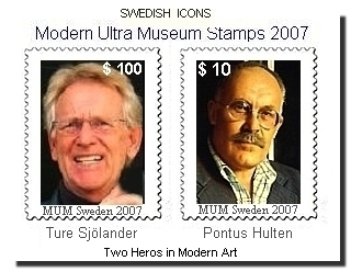 Svenska Frimärken 2007 Swedish Icons