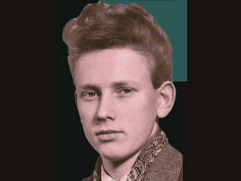 Ture Sjolander as teen