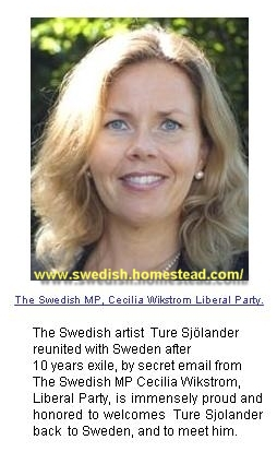 Cecilia Wikström Liberal Party Sweden